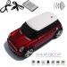 Колонка - Машинка Mini Cooper (колонка, плеер mp3, радио) black