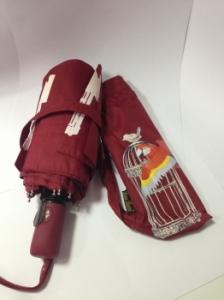 Зонт Антишторм меняющий цвет Попугай