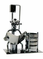 Техно арт подставка для ручек читатель металл 17,5Х13Х8 см