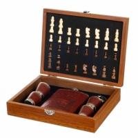 Фото1 Набор на подарок Для охотника шахматы и фляга