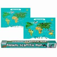 Скретч-карта Animal