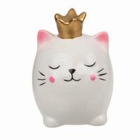 Копилка декоративная Котик в короне