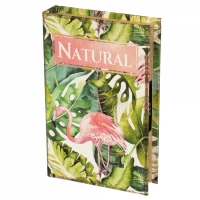 Фото Книги сейф с кодовым замком Natural 26 см