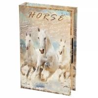 Фото Книги сейф с кодовым замком Horse 26 см