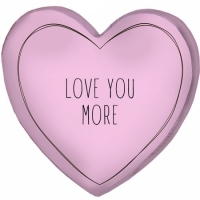 Фото Подушка 3D сердце Love you more