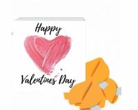 Фото Печенье с предсказаниями Happy Valentines Day