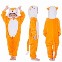 Детская пижама кигуруми Лисичка 120 см