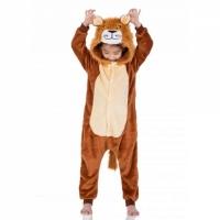 Детская пижама кигуруми Лев 120 см