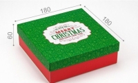 Фото Подарочная коробка Merry Christmas 18х18х6 см