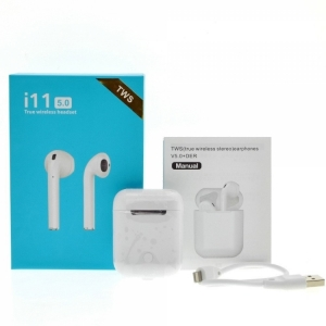 Беспроводные наушники i11-TWS Bluetooth 5.0 Sensor