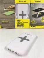 Внешний аккумулятор с беспроводной зарядкой Awei P98k 8000mAh
