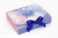 Подарочная коробка Рождество 25х20х5 см