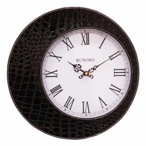 Настенные часы Eclipse черные