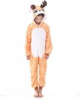 Фото Детская пижама кигуруми Олененок 130 см