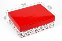 Подарочная коробка You and me 26х20х9 см