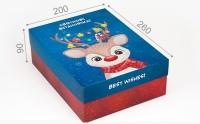 Подарочная коробка Best Wishes 20х26х9 см