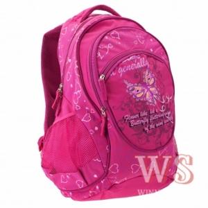 Рюкзак школьный Бабочка (в ассортименте) WS