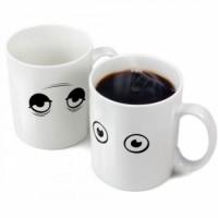 Чашка-хамелеон Глазки