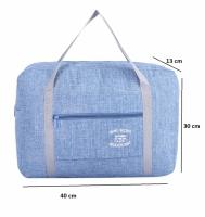 Складная дорожная сумка (синий)