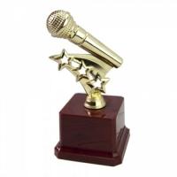 Статуэтка Золотой Микрофон
