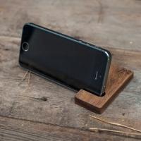 Фото4 Подставка для телефона из дерева Крючок