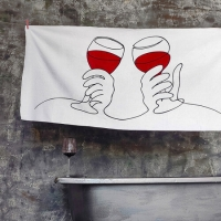Полотенце Wine 150х70 см