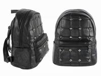 Рюкзак женский стеганый Черный
