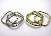 Браслет тройной квадратный металл
