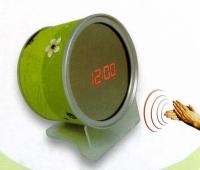 Часы - зеркало - банка (лого)