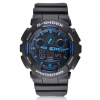 Часы Сasio G-Shock Black Blue 2 реплика