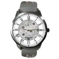 Часы Silver Flowers