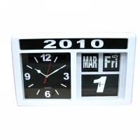 Фото Часы настенные с календарем