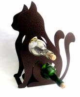 Держатель для бутылок Кошка