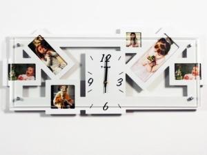 Фоторамка с часами Креатив