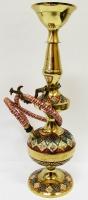 Кальян (на 1 персону)(14 см.) бронзовый цветной