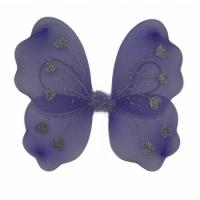 Крылья Бабочки с сердечками (фиолетовые) 32х36см