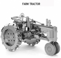 Металлический конструктор трактор