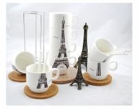 Набор чашек Париж 26 см