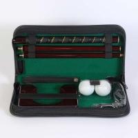 Набор для гольфа в кожаном кейсе