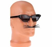 Очки - party с усами Кошка