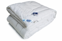 Одеяло из искусственного лебяжьего пуха чехол тик 140х205 см