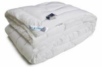 Фото Одеяло из искусственного лебяжьего пуха чехол тик теплое 172х205 см