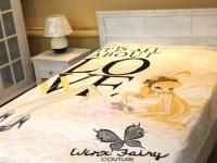 Плед микрофибра-панно Winx Fairy Стелла 150х200 см