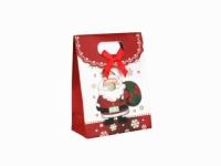 Подарочный пакет Дед Мороз 16см