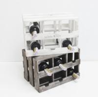 Подставка для вина ящик на 6 бутылок модульный горизонтальный