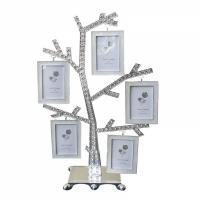Семейное дерево с фоторамки на 5 фото