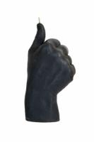 Свеча черная в виде руки Like