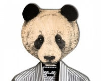 Вешалка Панда