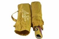 Зонт антишторм меняющий цвет горчичный