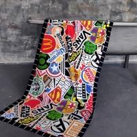Полотенце Stickers 150х70 см